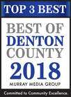 Top 3 Best of Denton County 2018