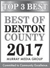 Top 3 Best of Denton County 2017